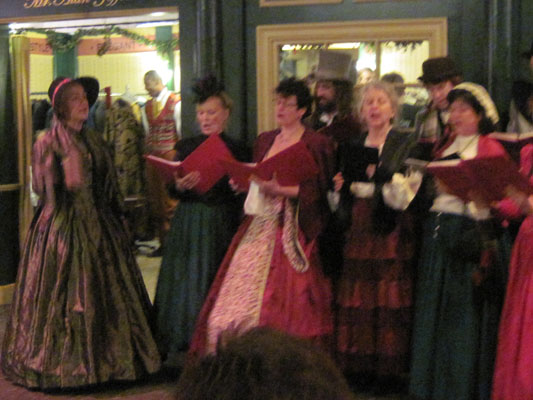 The Old World Carolers at the Dickens Fair, 12-18-11